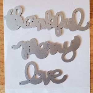 Stampin' Up! Expressions Thinlits Dies